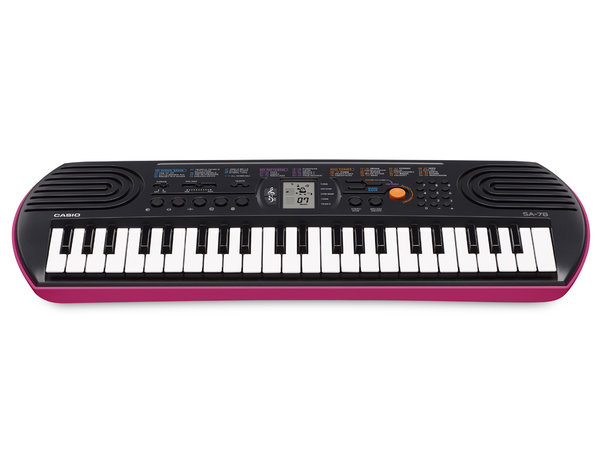 CASIO Mini Keyboard SA-78