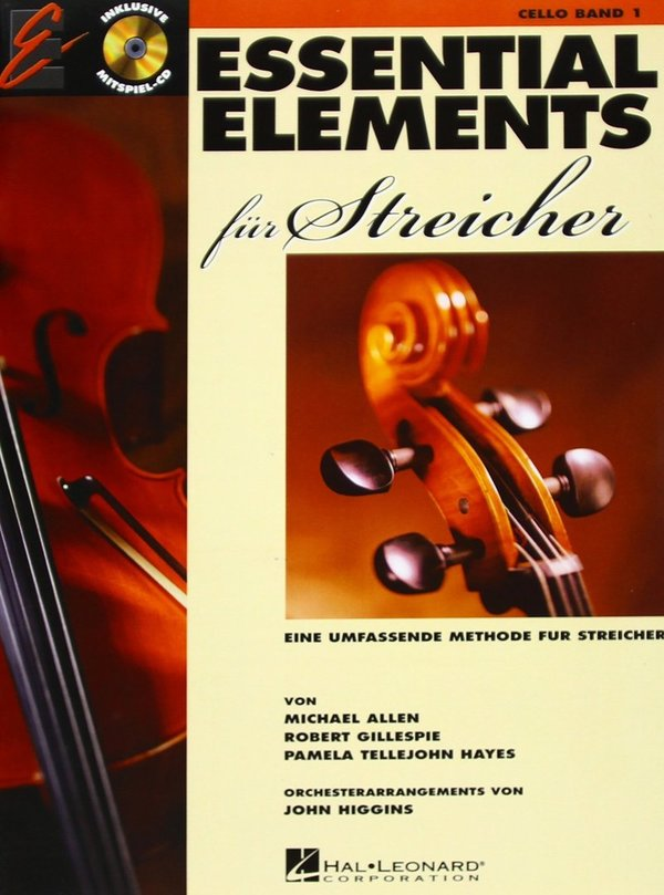 ESSENTIAL ELEMENTS für Streicher Violoncello (Band 1)