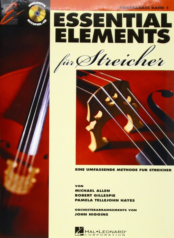 ESSENTIAL ELEMENTS für Streicher Kontrabass (Band 1)