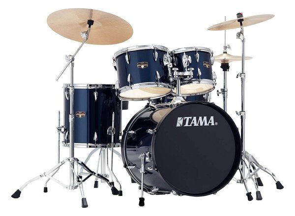 TAMA IMPERIALSTAR Midnight Blue Drum Set