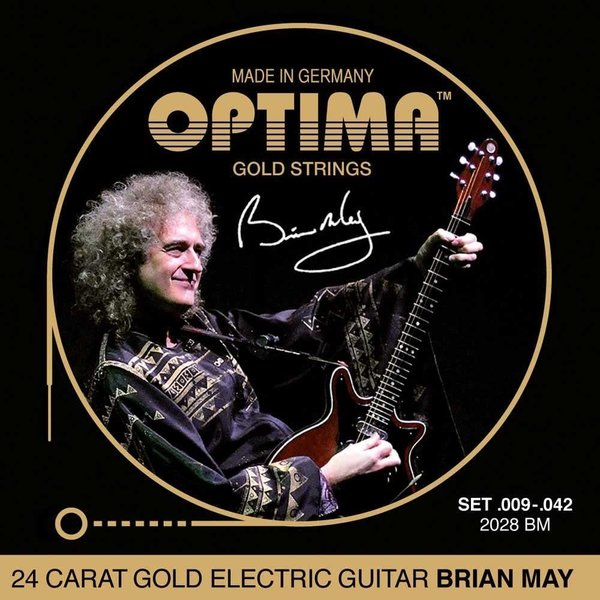 OPTIMA Gold Strings Brian May Set